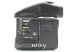ALMOST MINT Mamiya 645 Pro Film Camera AE Finder 120 Film Back From JAPAN