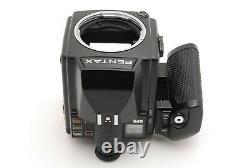 ALMOST MINT Pentax 645 Medium Format Film Camera Body 120 Film Back #52B