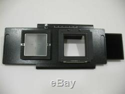 Adapter for Hasselblad V Back To 4x5 camera, for digital or film