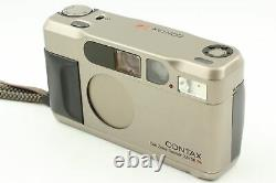 Appearance N MINT in Case Contax T2 D Data Back 35mm Film Camera From JAPAN