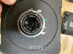 Arca Swiss F line 6x9 view camera kit, 80mm, 65mm, Film backs, Ground Glass