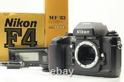 BOXED NEAR MINT withMF-23 Nikon F4 SLR 35mm Film Camera Data Back from JAPAN