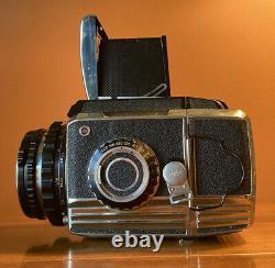 BRONICA S2A Camera Body + 75mm f/2.8 NIKKOR-P Lens + 2 Film Backs