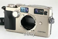 B V. Good CONTAX G2 35mm Rangefinder Film Camera Body GD-2 Data Back JAPAN 6067