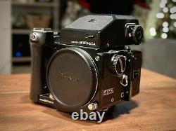 Bronica ETR S Medium Format Film Camera with 2 Film Backs, 3 lenses, and more