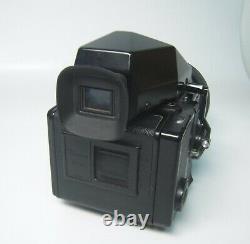 Bronica ETRs Body Camera +Zanzanon EII F=75mm f/2.8 Prisma, film back/Tested-yr34