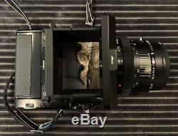 Bronica Etrsi With 6x4.5 Film Back WLF 75mm 2.8 Film Camera