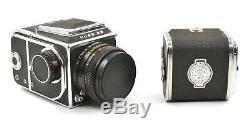CLA'd Hasselbladski Kiev-88 6x6 Medium Format Film Camera with Lens & 2 Backs