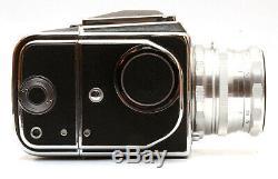 CLA'd Hasselbladski Salut 6x6 Medium Format Film Camera with Lens & 2 Backs