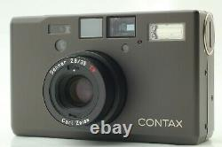 CLA'd Near MINT Contax T3D T3 D Data Titan Back BLACK Film Camera from JAPAN