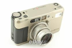 CONTAX TVS Data Back Point & Shoot Film Camera JAPAN EXC+4 / Appearance MINT