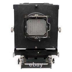 Calumet C-1 8x10 Film View Camera Black, 4x5 Back, Read