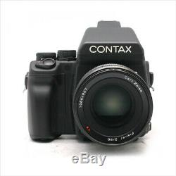 Contax645+80mm f/2 120/220 film back camera