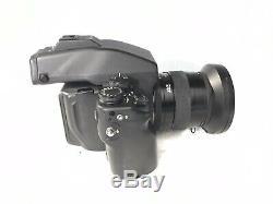 Contax 645 Kit camera, prism meter finder, Film back, 80mm f2 lens