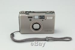 Contax T3 Double Teeth 35mm Point & Shoot Film Camera with Data Back, Champagne