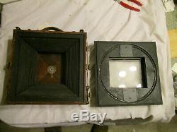 Deardorff 5x7 Large Format Film Camera 5x7 back & 4x5 REVOLVING back- GRAFLOK