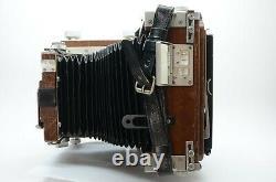 EBONY SV45Ti 4x5in Large Format Camera & ROTARY BACK & HORSEMAN FILM HOLDER
