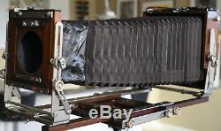 EBONY SV57U 5x7 Large Format Film Camera with 5x7 4x5 backs