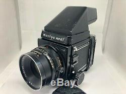 EXC+3 Mamiya RB67 Pro S Camera+Sekor NB 127mm f/3.8 + 120 Film Back from Japan