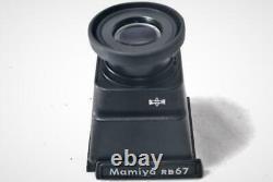 EXC+4 Mamiya RB 67 Pro Film Camera withSekor C 180mm F4.5, Polaroid Back, Chimney