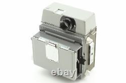 EXC+5 Mamiya Press Camera 90mm f3.5 Lens 6x9 Film Back Pint Glass JAPAN #0256