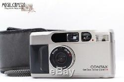 EXC+++++ Contax T2 35mm f/2.8 Film Camera (SV) + Date Back from JAPAN 291