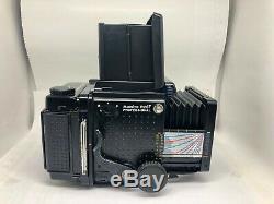 EXC++++ Mamiya RZ67 Pro 6x7 Film Camera Body 120 Film Back From Japan 0901