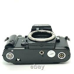 EXC+++++Nikon FA Black 35mm SLR Film Camera Body WithMF-16 Data back From Japan
