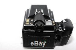 EXC+++++PENTAX 645 Medium Format Camera Body with 120 Film Back from JAPAN #158