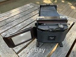 Ebony 23 Ti Special Medium Format Field Film Camera 2x3 6x9 + 2 Backs + Lens