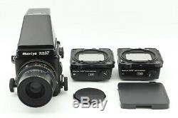 Exc5 Mamiya RZ67 Pro Camera with Sekor Z 90mm f/3.8 w+ 120 Film Back 2set JAPAN