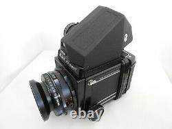 Exc+4 Mamiya RB67 PRO Camera + Sekor 127mm F/3.8 Lens 120 Film Back From Japan