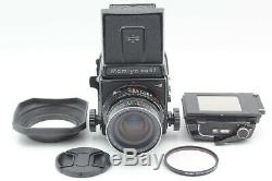 Exc+4 Mamiya RB67 Pro S Camera + Sekor C 65mm f4.5 + 120 Film Back From JAPAN