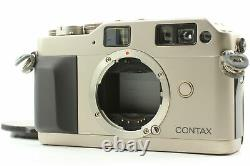 Exc+4 with Data Back CONTAX G1 Green Label 35mm Rangefinder Film Camera JAPAN