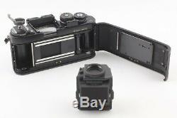 Exc+ 5Nikon F3HP 35mm Film Camera Black body Data Back MF-14 from Japan #461
