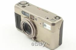 Exc+5 Contax TVS D Date Back 35mm Point & Shoot Film Camera From JAPAN