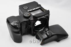 Exc+5 Mamiya 645 PRO Camera with AE Finder 120 Film Back From Japan #019
