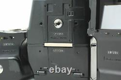 Exc+5 Mamiya 645 Pro AE Finder Camera 120 Film Back with Strap From JAPAN
