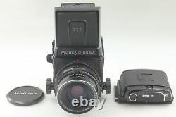 Exc+5 Mamiya RB67 PRO Camera Sekor NB 90mm f/3.8 Lens 120 Film Back From JAPAN