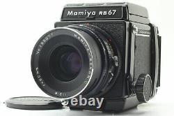 Exc+5 Mamiya RB67 Pro Camera 120 Film Back Sekor C 90mm F/3.8 Lens From JAPAN