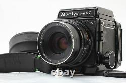 Exc+5 Mamiya RB67 Pro S Film Camera + Sekor C 90mm F3.8 120 Back From JAPAN