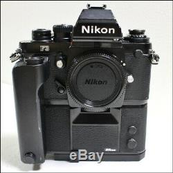 Exc+5 Nikon F3 HP F3P Press SLR 35mm Film Camera MD-4 Data Back + MF-6 JN1095