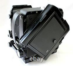 Exc+5 Toyo Field 45A 4x5 Camera with Revolving Back, Cut Film Holders from Japan
