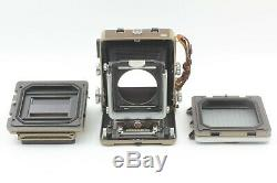 Exc+5 WISTA45 D 4x5 Large Format Film Camera 6x9 Roll Film Back From Japan