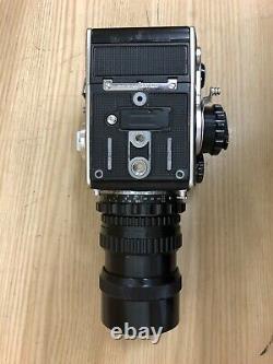 Exc+5 Zenza Bronica EC 6x6 Film Camera with 2 Film Back & Nikkor P 200mm F/4 JPN