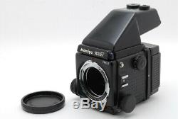 Exc+++++Maimiya RZ67 PRO II Camera with AE Finder &120 Film Back From Japan 1062