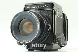 Exc+++++ Mamiya RB67 Pro Film Camera Sekor 90mm F/3.8 120 Film Back Japan
