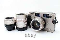 Excellent++ Contax G2 35mm SLR Film Camera with 28mm 45mm 90mm Data Back from JP