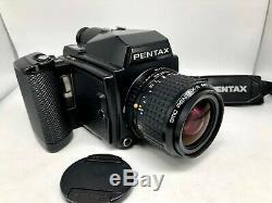 FedExN. MINT+++Pentax 645 Film Camera + SMC A 55mm f2.8 + 120Back from Japan