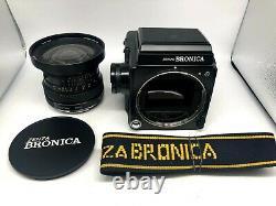 FedExNr MINT BRONICA GS-1 Film Camera + PG 50mm F4.5 + 120 Back From Japan